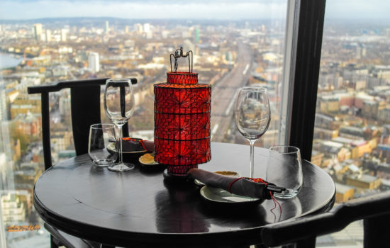 Lunch with a spectacular view at Hutong at The shard, London Bridge