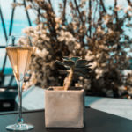 Champagne at IRIS Bar | The Gherkin by Searcys
