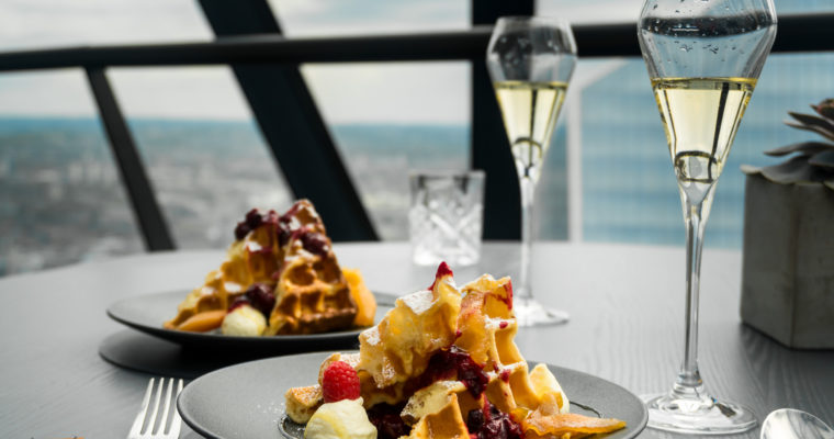 Sunday Brunch at HELIX Restaurant, The Gherkin