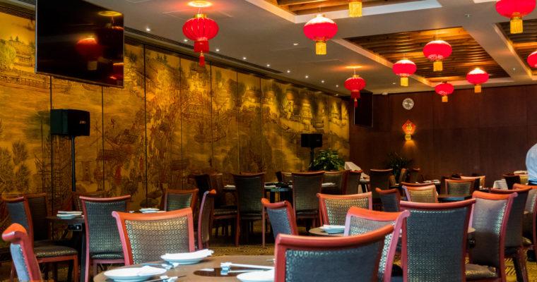 Lunch at Golden Dragon Restaurant